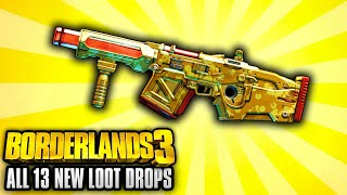 Borderlands 3 - ALL 13 NEW Legendary Item Boss Week Locations YOU CAN FARM!