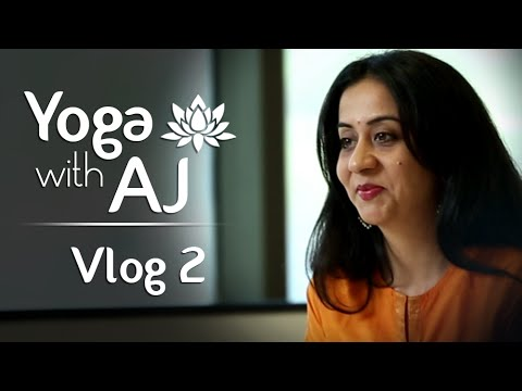 Perfect Time For Yoga – Yoga For Beginners | Vlog 2 | Yoga With AJ | Yoga Day Special Vlog