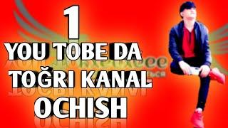 YUO TOBEDA TOGRI KANAL OCHISH // YOU TOBE KANALNI 5 DAQIQADA OCHAMIZ