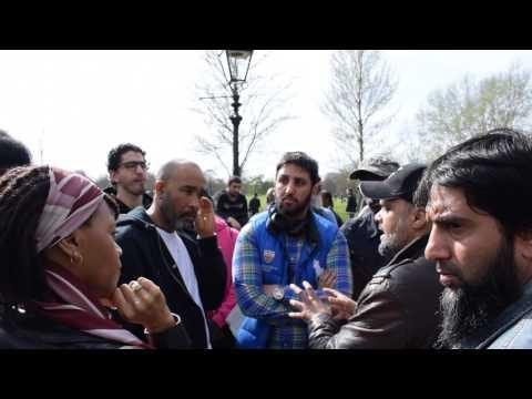 Humble Ends! Hashim vs Humble Man | Speakers Corner | Hyde Park