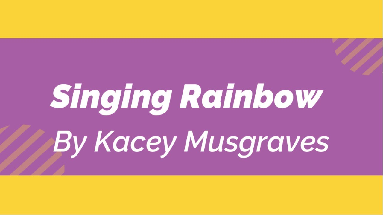 """Not Gacha Life-""""In Real Life"""" I Sing Rainbow by Kacey Musgraves Song Cover"""