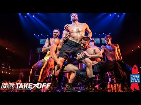 """Ground Crew"" at Broadway Bares 2019"