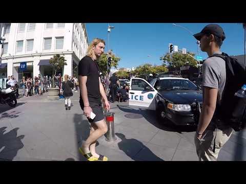 Taser Arrest Third Street Promenade Santa Monica