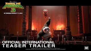 Kung Fu Panda 3 [Official International Teaser Trailer in HD (1080p)]