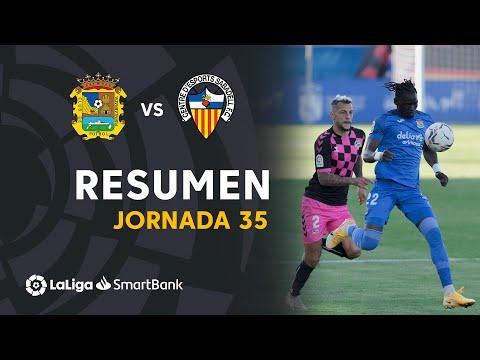 CF Fuenlabrada Sabadell CE Goals And Highlights