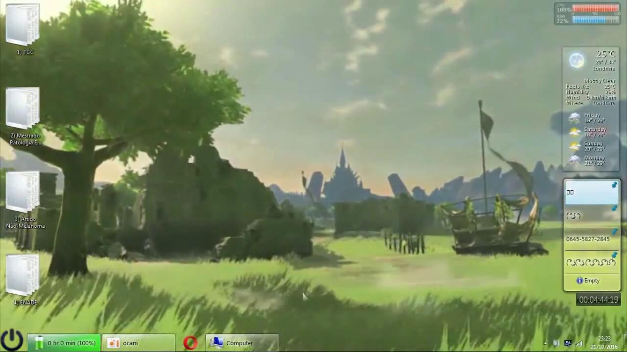 Zelda Breath Of The Wild Dreamscene Animated Wallpaper Windows 7