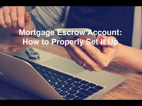 Mortgage Escrow Account: How to Properly Set It Up In QuickBooks