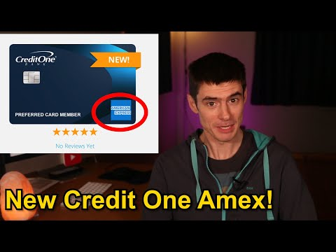 NEW Credit One American Express Review