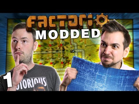Modded Factorio #1 - Electricity Technician Sips