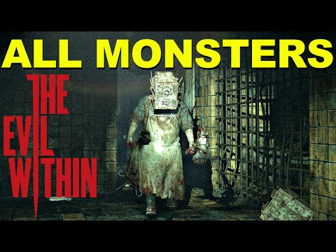 All Monsters In The Evil Within