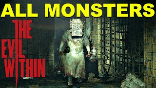 All Monsters In The Evil Within - ULTIMATE ENEMIES GUIDE!