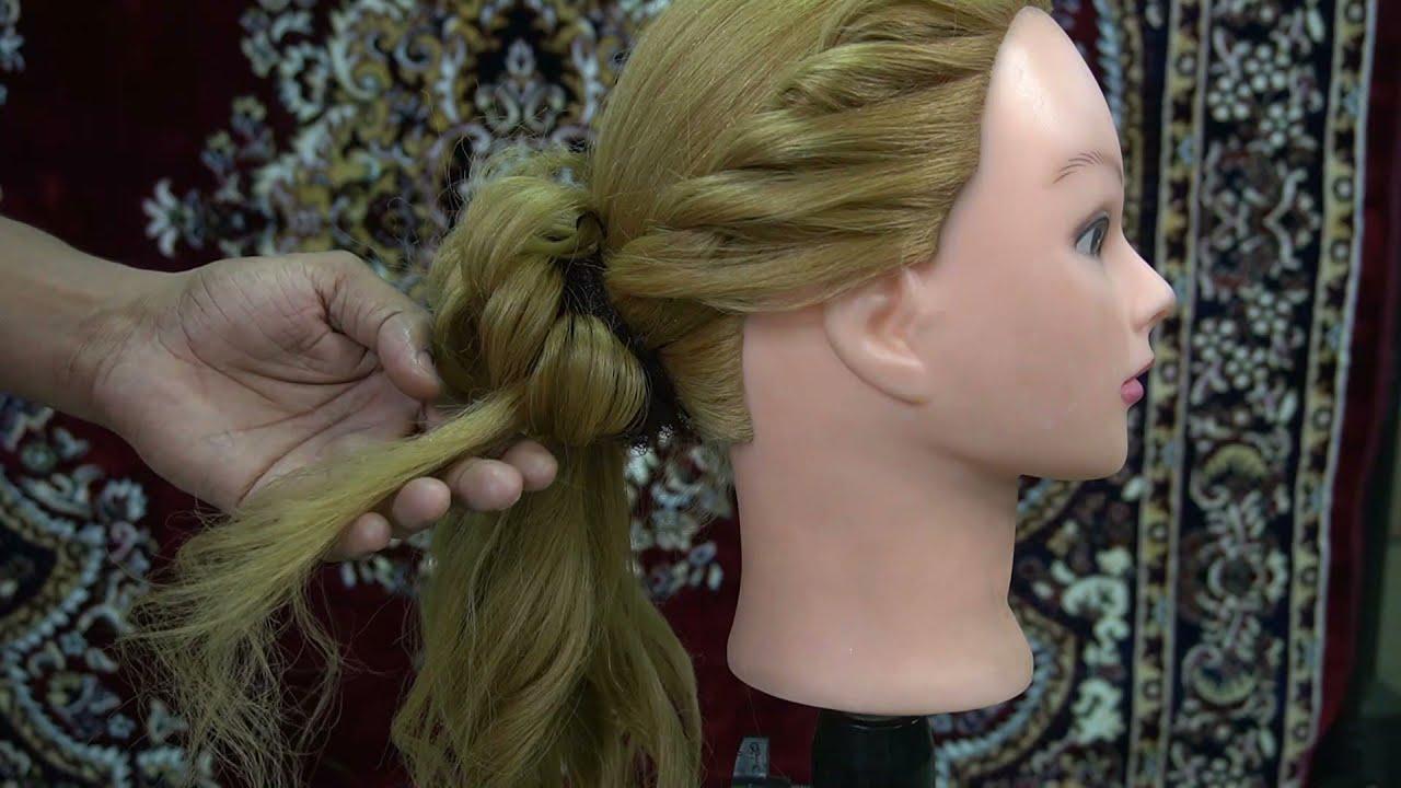 Basic hair style 3rd class messy bun    Tutorial    #sonumakeupartist    #hairdo #haircut    #bride