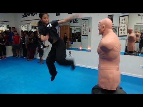 kung-fu-kids---can-you-knock-down-the-270-lb-bob-dummy?
