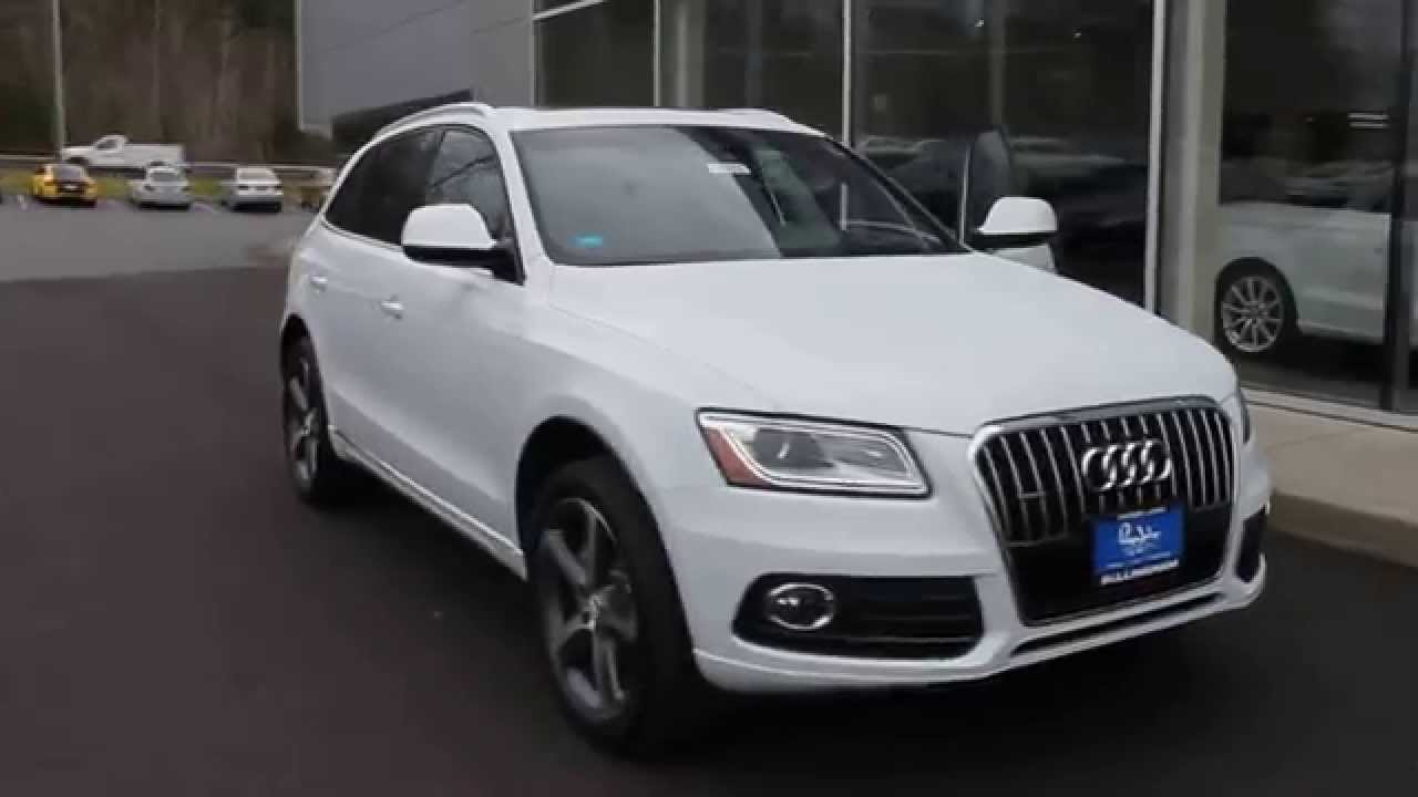 2017 Audi Q5 Glacier White Metallic Stock 110339 Walk Around