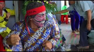 Lễ đánh phá hoàng Trại hòm Bảy Kháng chợ nhà Phấn Cà Mau 2017