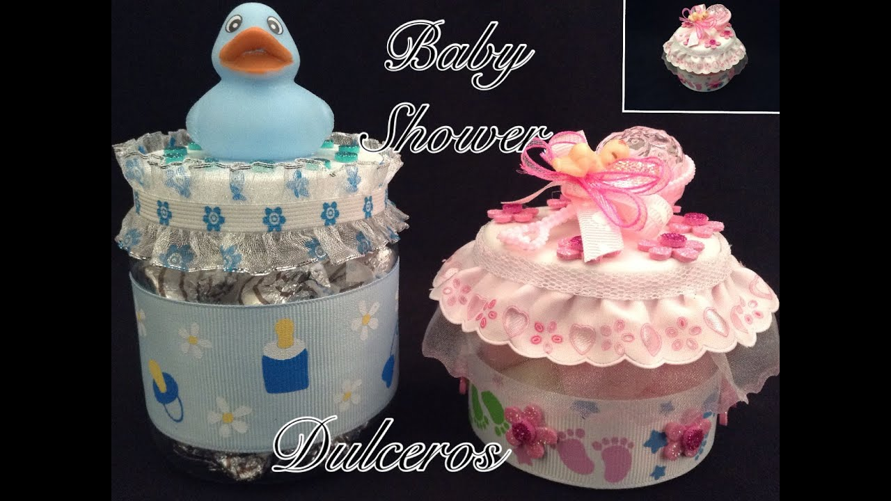 Decoracion Baby Shower Varon ~ DULCEROS PARA BABY SHOWER  YouTube