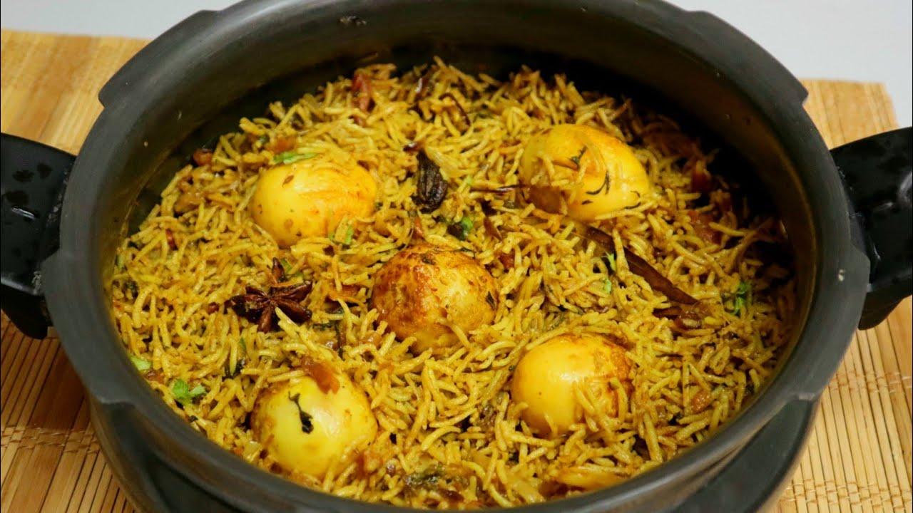 10 నిమిషాల్లో కుక్కర్ లో ఈజీగా ఎగ్ బిర్యాని 😋 ఒక్కసారితిన్నారంటే ఇంక మర్చిపోరు👌Egg Biryani In Cooker