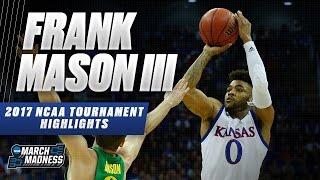 2017 NCAA Tournament: Kansas' Frank Mason III
