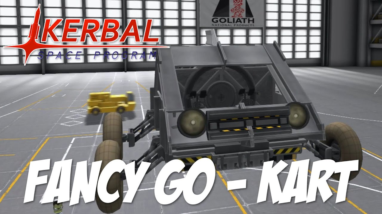 Kerbal Space Program: ROCKET GO-KART!!! - YouTube