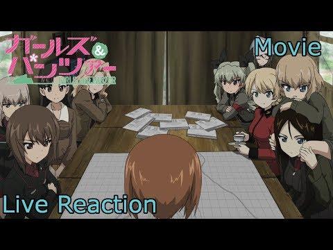 [Live Reaction] Girls und Panzer der Film