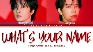 Download Mp3 Super Junior-d&e  슈퍼주니어-d&e  '너의 이름은 What Is Your Name?' Color C