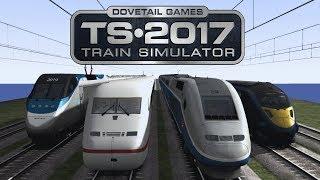 Train Simulator 2017 - Speed Test! #4 (Electric Locos)