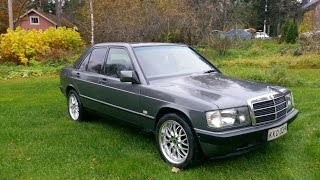 Mercedes Benz w201 project