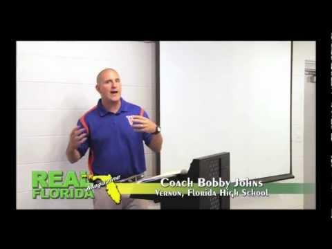 Vernon, Florida High School Football Coach Bobby Johns 2-12-13 HD