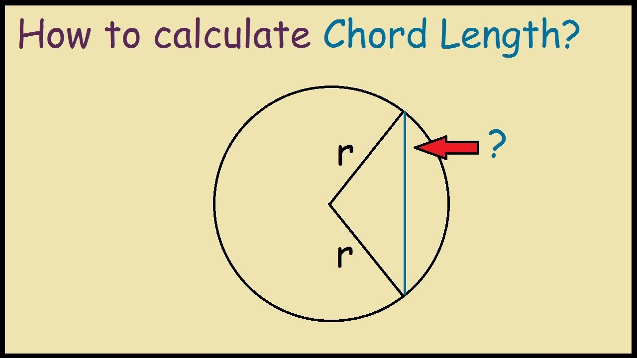 How To Calculate Chord Length Of A Circle  Youtube. Sdhc Card Data Recovery Atlanta Home Warranty. Cash Flow Financial Calculator. Northern Insurance Company Of New York. Medical Alert Devices For Seniors. How Can You Stop A Foreclosure. Microsoft Dynamics Gp Help Long Term Rehabs. Texas A&m University Online Lel Natural Gas. Work And Study Abroad Programs