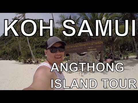 Koh Samui ANGTHONG 4 Island Tour AMAZING! | Thailand | Vlog 020