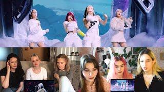 "Russian Girls React to BLACKPINK - ""How You Like That"" 해외반응 리액션 [ENG SUB] 2"