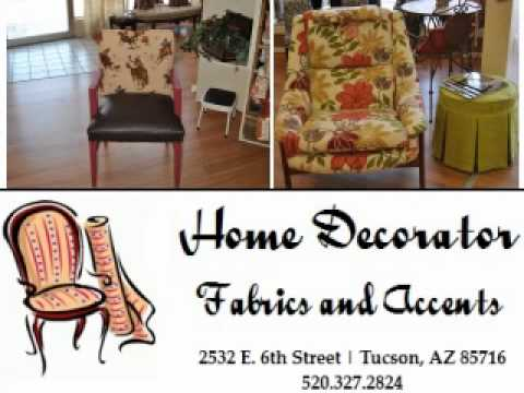 Home Decorator Fabrics and Accents