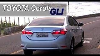 O Toyota Corola GLi
