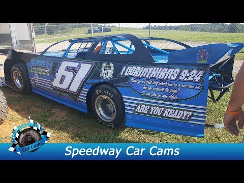 #61 Kenny Ford - Sportsman - 9-3-17 Tazewell Speedway - In Car Camera
