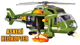 Askeri Helikopter ile Şirineyi Kurtardık # Işıklı Sesli ve Halatlı Asker Oyuncağı
