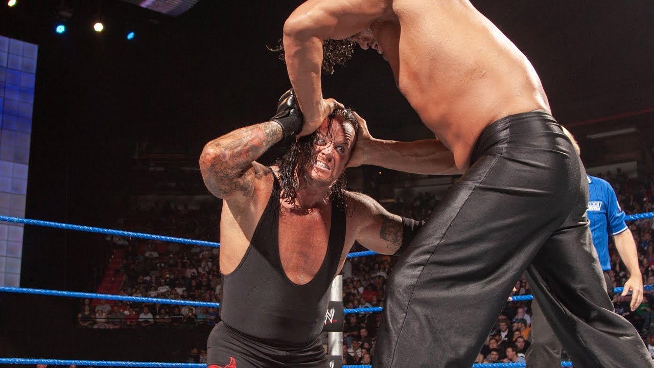 The Undertaker battles The Great Khali and Big Show: SmackDown, Oct. 17, 2008