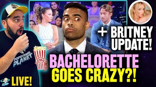 Bachelorette Goes NUTS! #TeamGreg Rant + Britney Spears Update! & Movie Talk! LIVE!