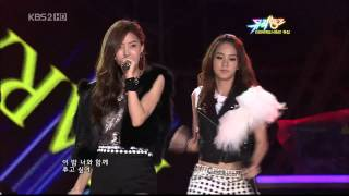 14.08.2009 [MusicB] KARA, 4minute, T-ARA, Chae Yeon: Two Of Us