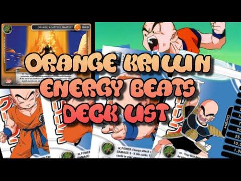 Orange Krillin Energy Beats Deck Profile List Chicago Regional 2015