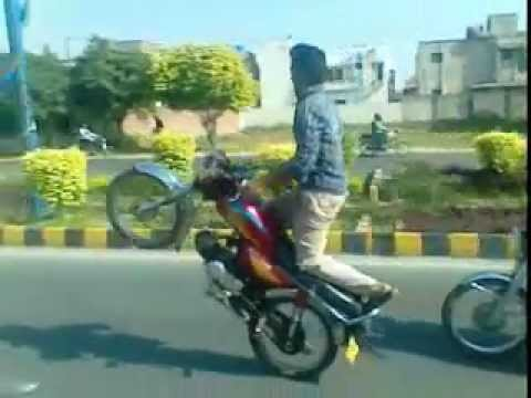 wheeling in lahore mani wheeler of green town in pakistan mani rajpoot Travel Video