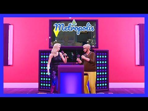 The Sims 4 Metropolis - Karaoke Night