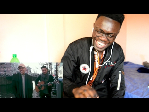 BRUNO MARS - Versace On The Floor (Cover by Leroy Sanchez) LIVE from Amsterdam  REACTION