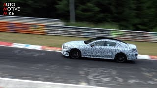 إلتقاط فيديو تجسسي لمرسيدس AMG GT4 الجديدة على حلبة نوربرجرنج
