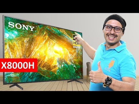 Sony X8000H - All The Details | X8000H Vs X8000G | 2020 Sony 4K UHD X8000H LED TV