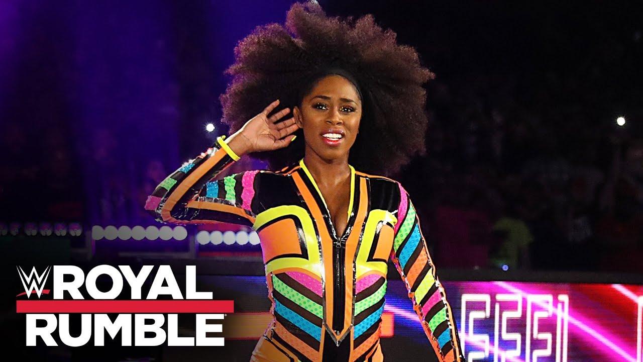 Naomi returns at Women's Royal Rumble Match: Royal Rumble 2020 (WWE Network  Exclusive) - YouTube
