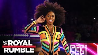 Naomi returns at Women's Royal Rumble Match: Royal Rumble 2020 (WWE Network Exclusive)