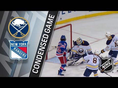03/24/18 Condensed Game: Sabres @ Rangers