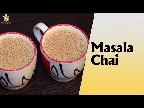 Masala Chai Recipe in Hindi मसाला चाय बनाने की विधि | How to Make Masala Chai at Home in Hindi