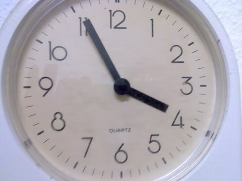 Learn German #14a - How to tell the time (formal)
