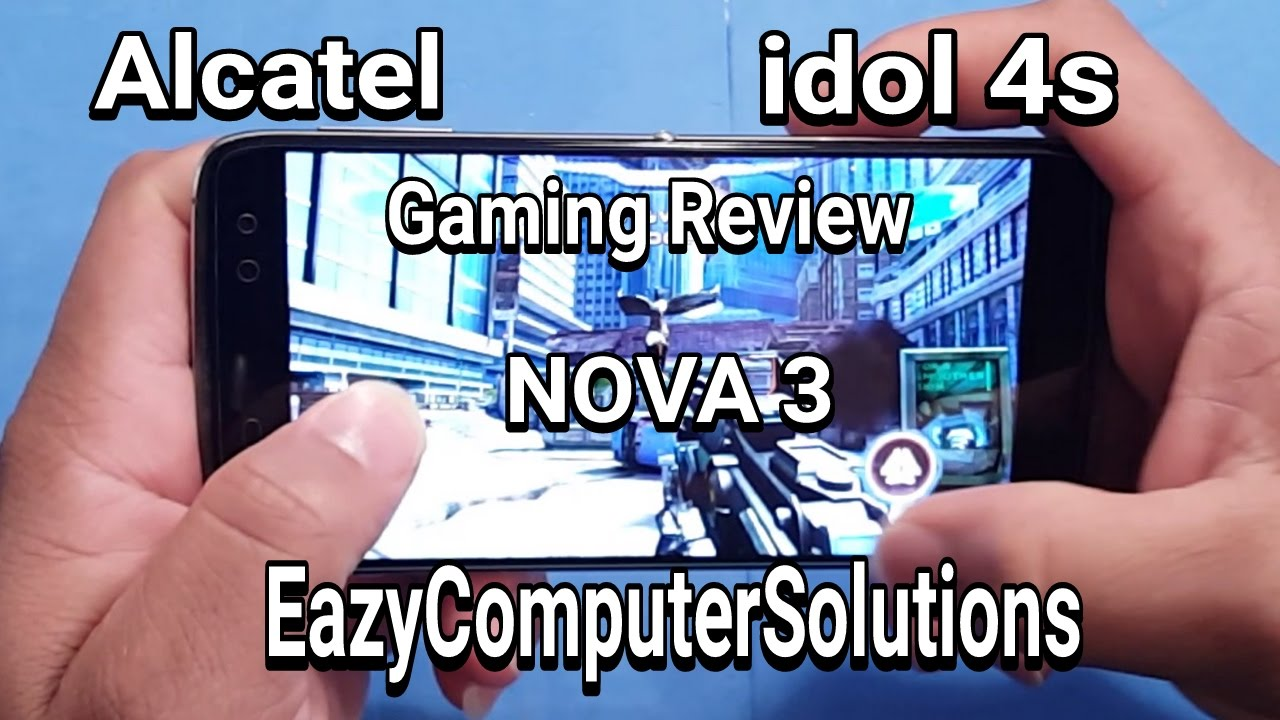 Alcatel Idol 4s Gaming Review: performance | Heat | Battery Test